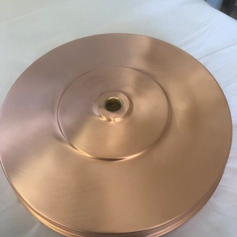 Brush Copper Disk