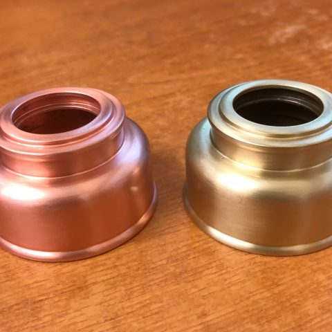 Brush Copper and Brush Brass