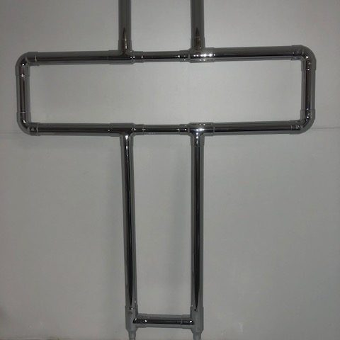 Chrome Bespoke Church Radiator